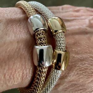Avon Signature Collection Set of 2 Mesh Bracelets